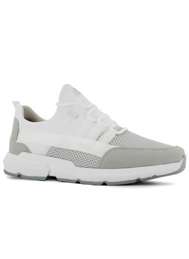 Slazenger Slazenger Twin Sneaker Erkek Ayakkabı    Beyaz